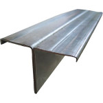 Профиль фасадный вертикальный Т-образный 80х5 мм (3м)