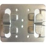 Кляммер для керамгранита Рядовой  оцинкованный AR П70х10х1.2 (р)
