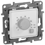 Терморегулятор электронный для теплого пола Legrand Etika белый 672230