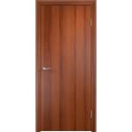 Дверное полотно глухое Verda ламинированное финиш-пленкой итальянский орех 2000x800 мм