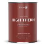 Термостойкий лак Elcon для печей и каминов бесцветный до +250°C 1 л