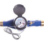 Счетчик холодной воды многоструйный Пульсар Ду 15 мм 1.5 м3/час длина 165 мм с импульсным выходом