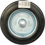 Колесо под ось 20 мм Стелла-техник d 200 мм, резина, металл 4000-200