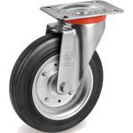Колесо поворотное Tellure Rota d 150 мм, резина 535111