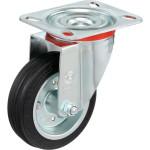 Колесо Tellure Rota d 100 мм, резина 535102