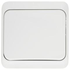 Выключатель одноклавишный Schneider Electric Этюд BA10-004B белый