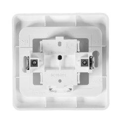 Выключатель одноклавишный Schneider Electric Этюд BC10-001B белый