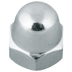 Гайка DIN1587 колпачковая оцинкованная М 8, 2 шт.