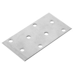 Пластина соединительная Omax PS 40х80х2 мм углеродистая сталь