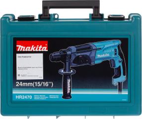 Перфоратор Makita HR 2470 SDS-plus 780 Вт 2.7 Дж
