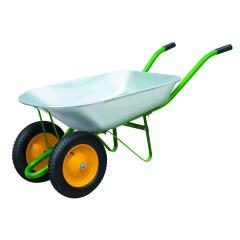 Тачка садовая на двух колесах PALISAD 170 кг 78 л