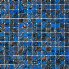 Мозаика Artens Pool сине-золотистая 327х327х4 мм 0.11 м2