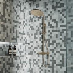 Мозаика Artens Ceramic серая 300х300х6 мм 0.09 м2