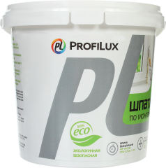 Шпатлевка по монтажной пене Profilux 1.5 кг