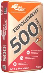 Цемент ЕВРОЦЕМЕНТ ПЦ-500 ЦЕМ II/А-Ш 42.5 Н 50 кг