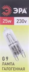 Лампа галогенная Эра G9-JCD-25-230V-CL