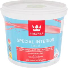 Краска интерьерная Tikkurila Special Interior Light глубоко-матовая база А белая 2.7 л