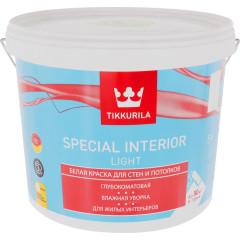 Краска интерьерная Tikkurila Special Interior Light глубоко-матовая база А белая 5 л