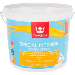 Краска интерьерная Tikkurila Special Interior Home&Office матовая база C 5 л