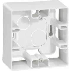 Коробка накладного монтажа Legrand Etika 1 пост белая
