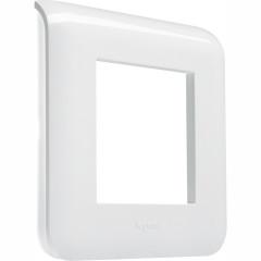 Рамка Legrand Mosaic 2 модуля белая