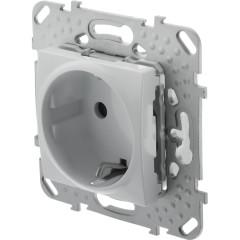 Розеткасзаземлениемв рамку SchneiderElectricUnica белая