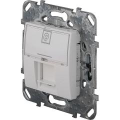 Розеткакомпьютерная 1хRJ45 категория 5Е в рамку SchneiderElectricUnicaбежевая