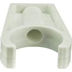 Крепеж трубы длинный Пластик d 32 мм