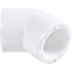 Угольник Пластик ПП d 25 мм х 45 градусов