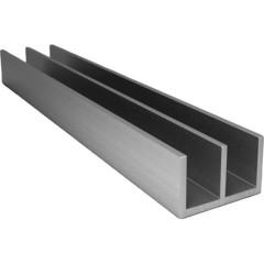 Профиль Ш-образный алюминиевый 265х2000 мм