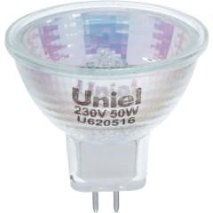 Лампа галогенная Uniel GU5.3 50 Вт 230 В