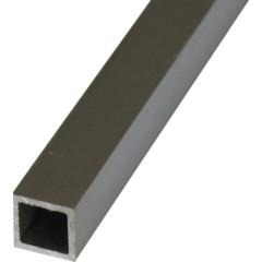 Труба квадратная алюминий 20х20х1.5х2000 мм серебро