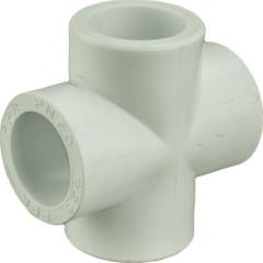 Крестовина Пластик ПП d 25 мм