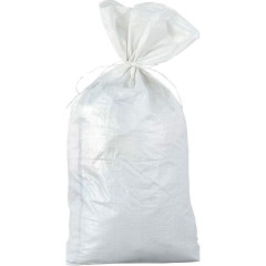 Мешок для мусора 1 сорт белый 0.55x0.95 м
