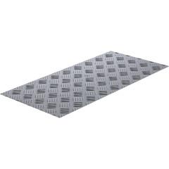 Лист рифленый алюминий АМг2 1.5х300х600 мм