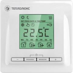 Терморегулятор электронный Теплолюкс 520 белый для теплого пола