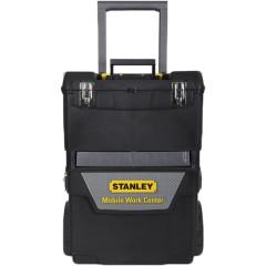 Ящик для инструмента Stanley IML Mobile Work Center 2 in 1 черно-серый металлопластмассовый 47.3х62.7х30.2 см