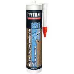 Клей строительный для ванных комнат TYTAN № 915 440 г белый