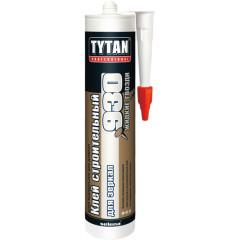 Клей строительный для зеркал TYTAN № 930 380 г бежевый