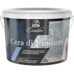 Штукатурка декоративная Düfa Cera di finitura лессирующий матовый состав для фактурных покрытий 2.5 л