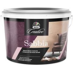 Штукатурка декоративная Dufa Creative  Sabbia с эффектом песчаных вихрей 5 кг