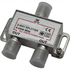 Штекер антенный металлический с защитой Oxion