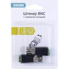 Штекер BNC с клеммной колодкой Oxion, 2 шт.