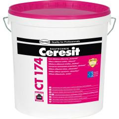 Штукатурка декоративная силикатно-силиконовая Ceresit CT 174 1.5 мм база камешковый эффект 25 кг