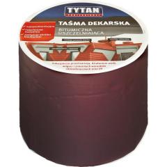 Лента битумная для кровли Tytan RS TAPE 10 см x 10 м коричневая