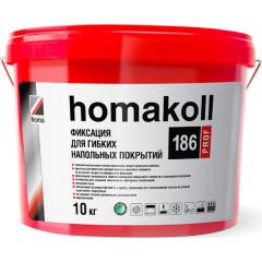 Фиксация для гибких напольных покрытий Homakoll 186 Prof 10 кг