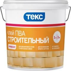 Клей ПВА Текс Универсал строительный 3 кг