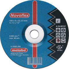 Круг зачистной по металлу Metabo Novoflex 180x22.23x6 мм