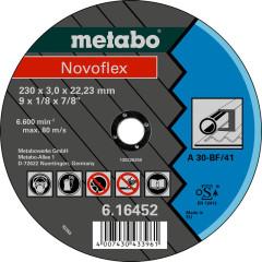 Круг отрезной по металлу Metabo Novoflex 230x22.23x3 мм