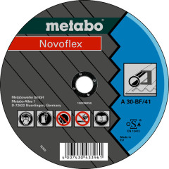 Круг отрезной по металлу Metabo SP-Novoflex 125x22.23x2.5 мм